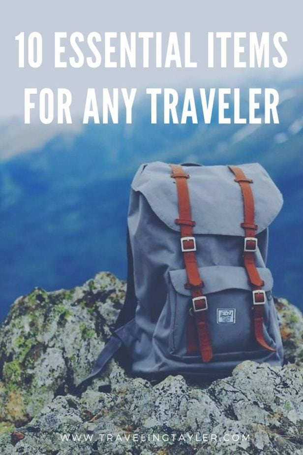 A list of my top 10 favorite travel items that are essential to my travels for 2019.