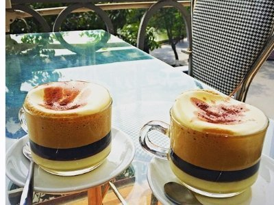 Vietnam Eggnog Coffee