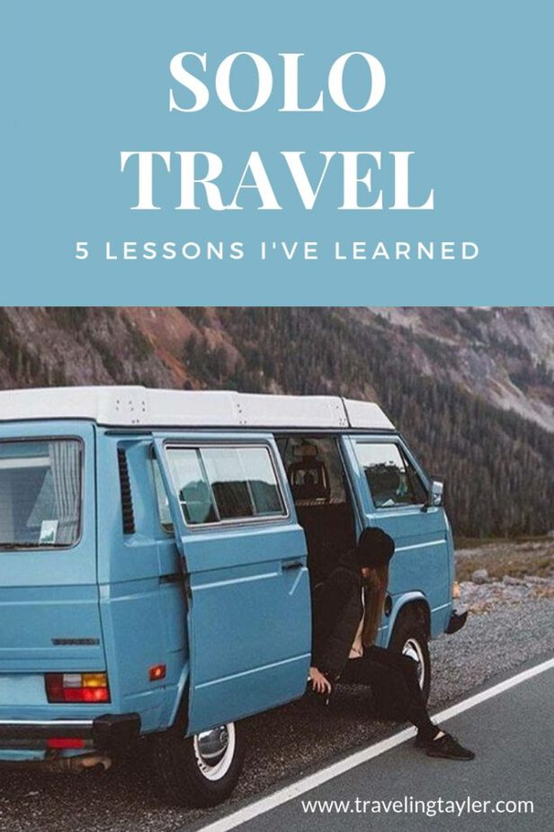 Solo travel and the life lessons you learn as someone traveling alone