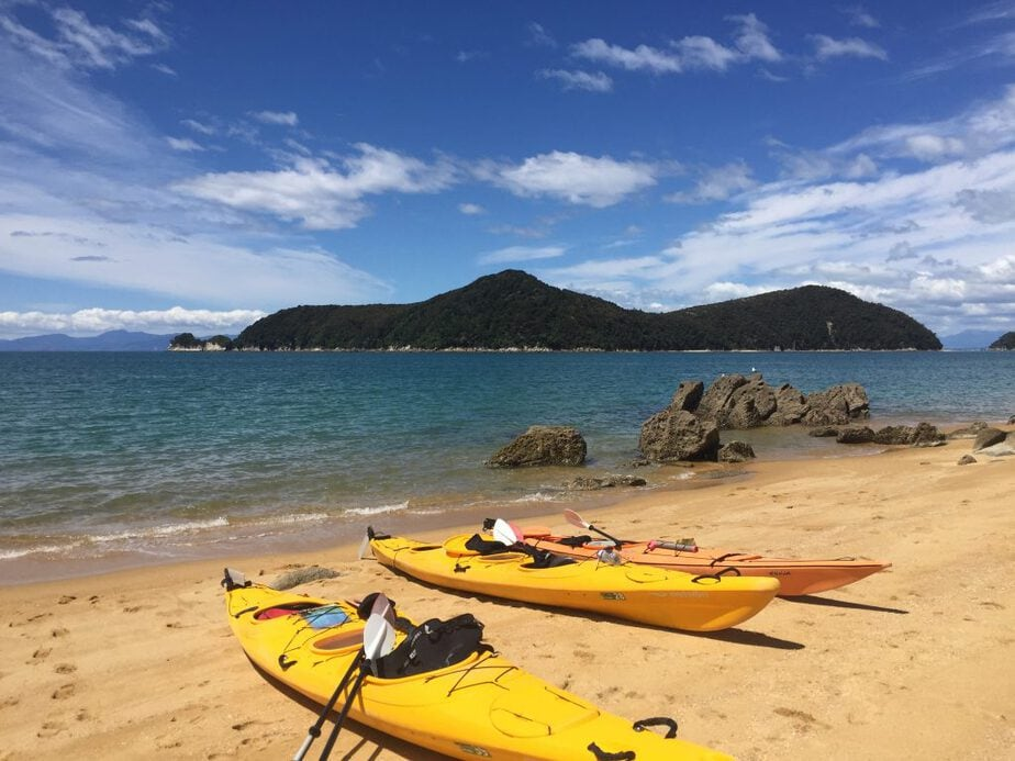 Spend a day kayaking to explore the local nature and get your exercise in while traveling