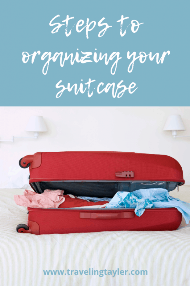 Steps to Organizing your Suitcase using the KonMari Method