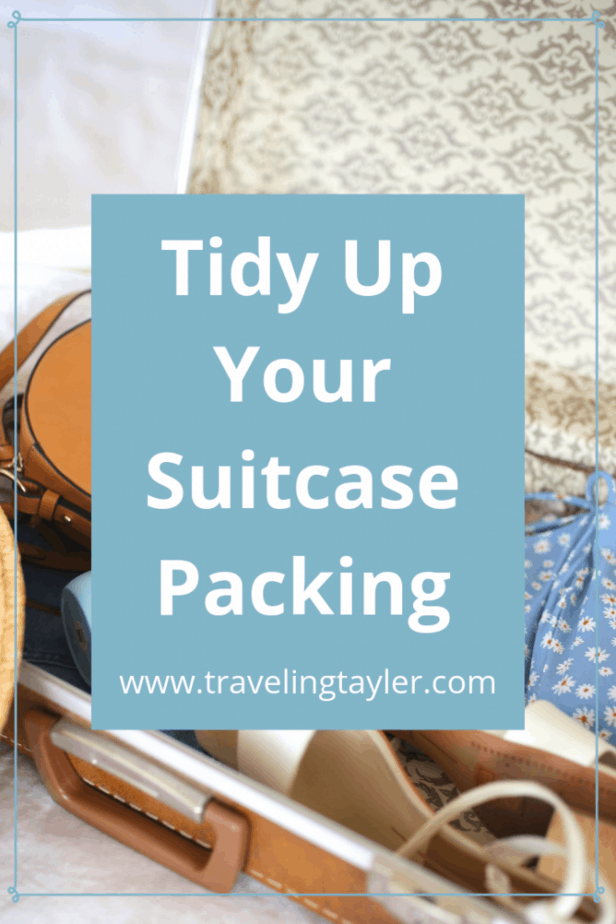 Tidy up Your Suitcase Packing using the KonMari Method
