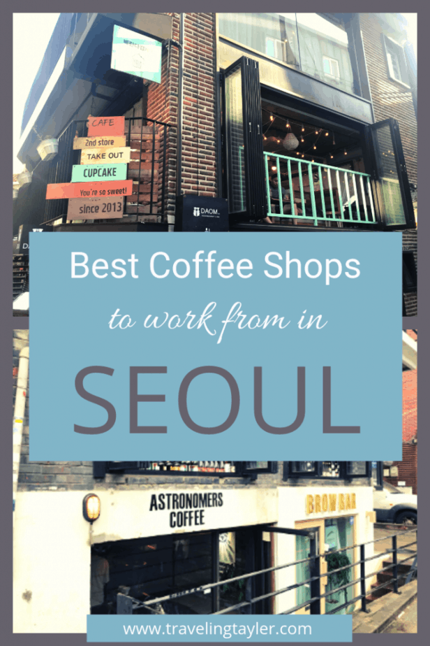 Best Coffee Shops to work from in Seoul