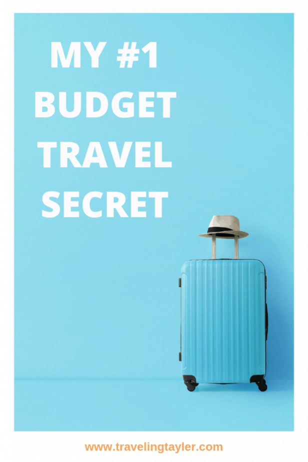 My no 1 budget travel secret