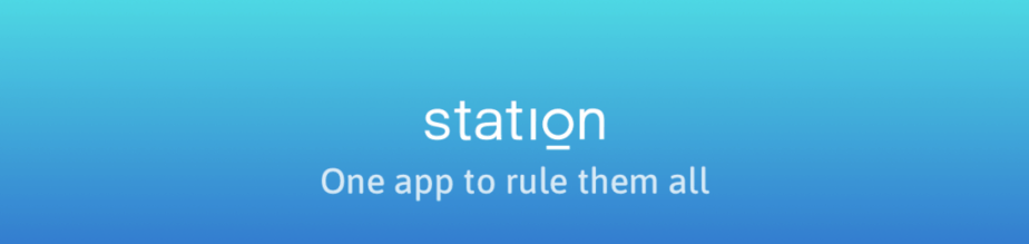 Station App One App to Rule Them All