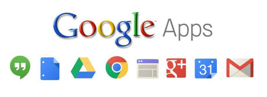 Google Apps and their icons