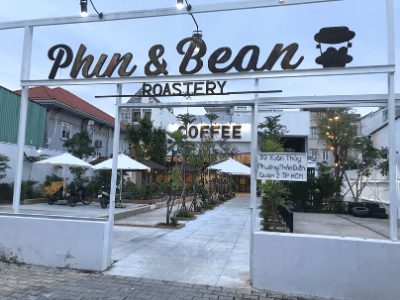 Phin & Bean one of the coolest coffee shops in ho chi minh city