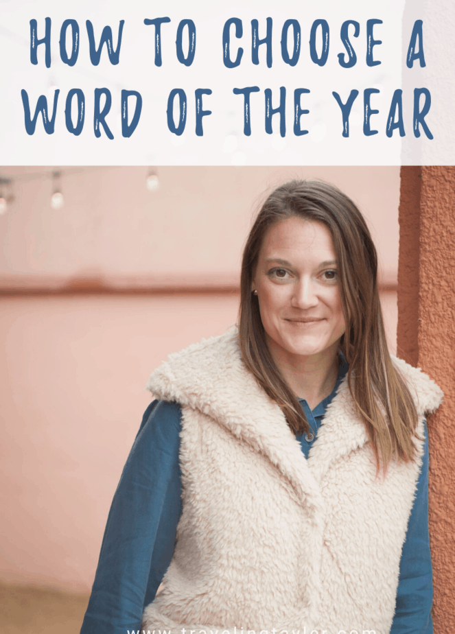 How to Choose A Word of the Year
