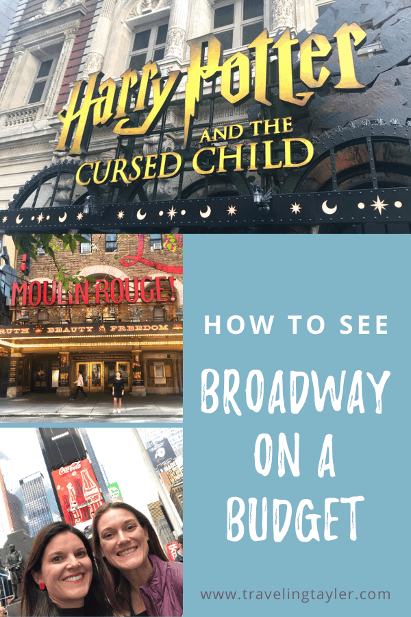 How to See Broadway on a Budget