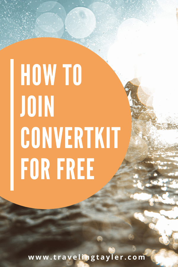 Join ConvertKit for Free