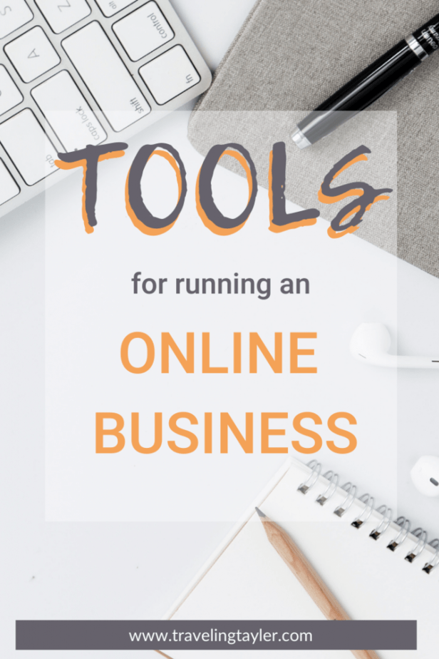 Tools for Running an Online Business