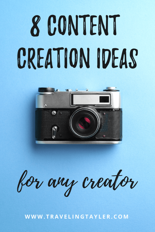 8 Content Creation Ideas