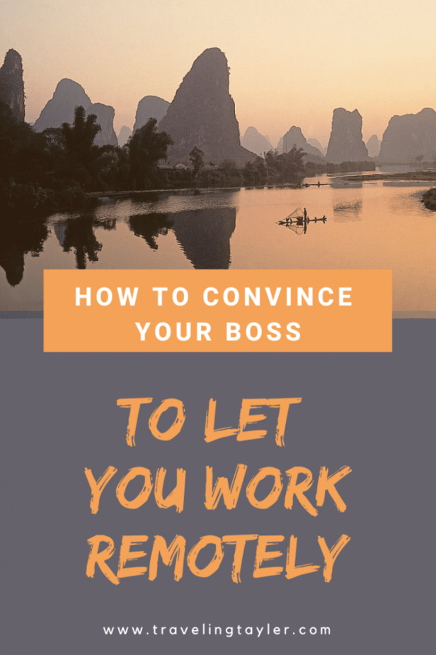 How to Convince Your Boss to Let You Work Remotely