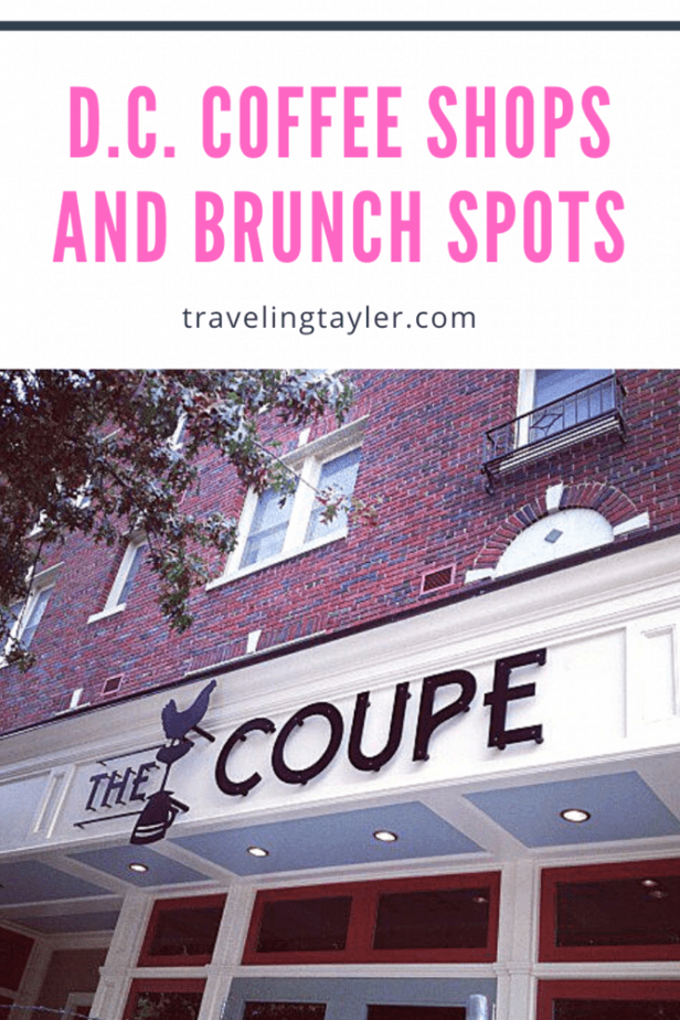 Washington D.C. Cofee Shops and Brunch Spots